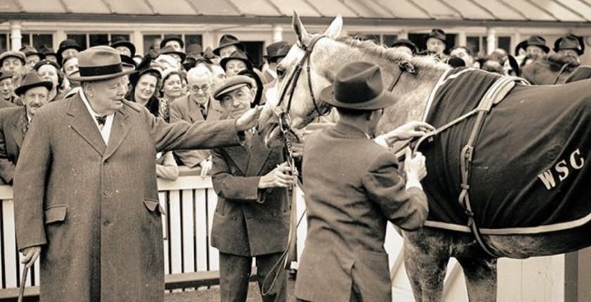 Унстон Черчилль и Колонист, фото сайта winstonchurchill.hillsdale